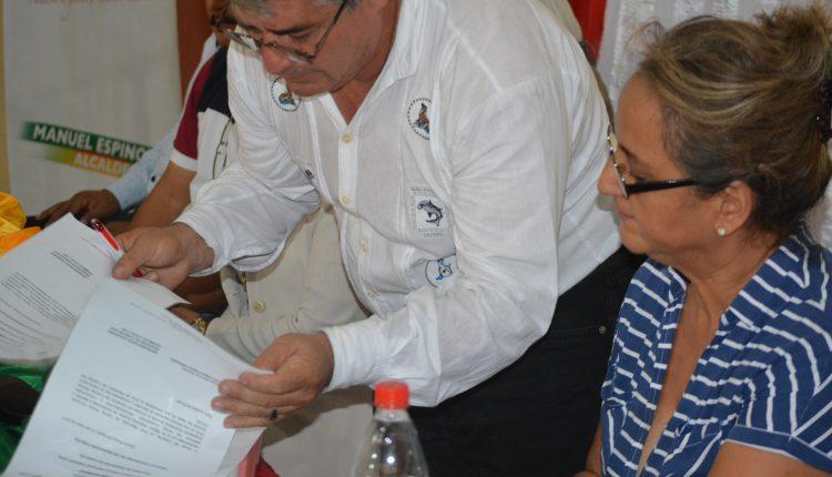Alcalde Manuel Espinoza Rinde Cuentas a Sus Mandantes