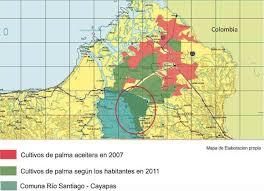 Comuna Río Santiago anuncia levantamiento a favor de la minería.