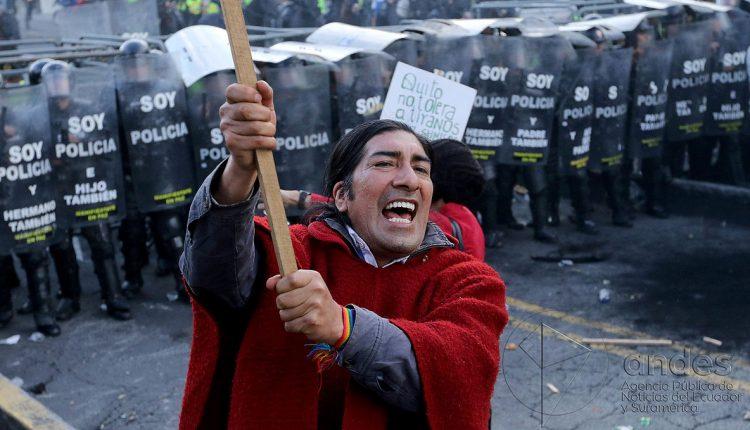 Marcha Indígena Anti-minera Saldrá Desde Tundayme Hasta Quito