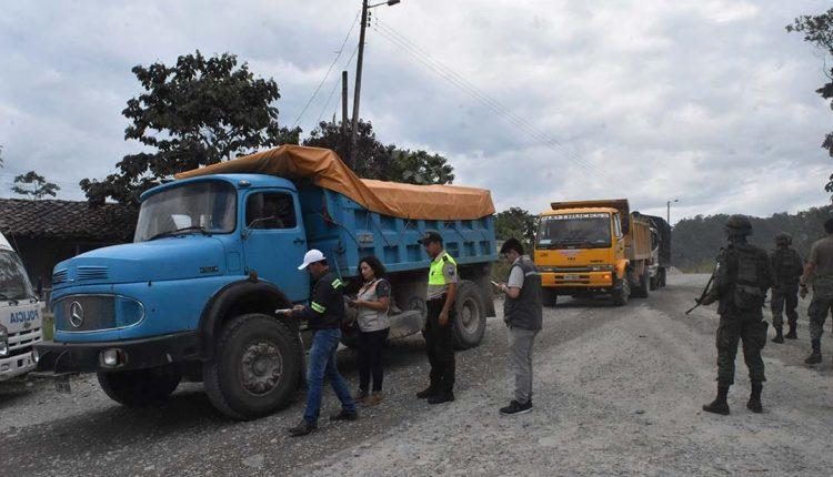 Nueve instituciones gubernamentales frenan actividades de minería ilegal en el Alto Nangaritza