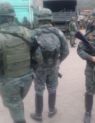 CECMI Determinó operativo militar en Buenos Aires.