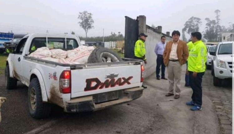 17 detenidos en operativo contra la minería ilegal en Imbabura.