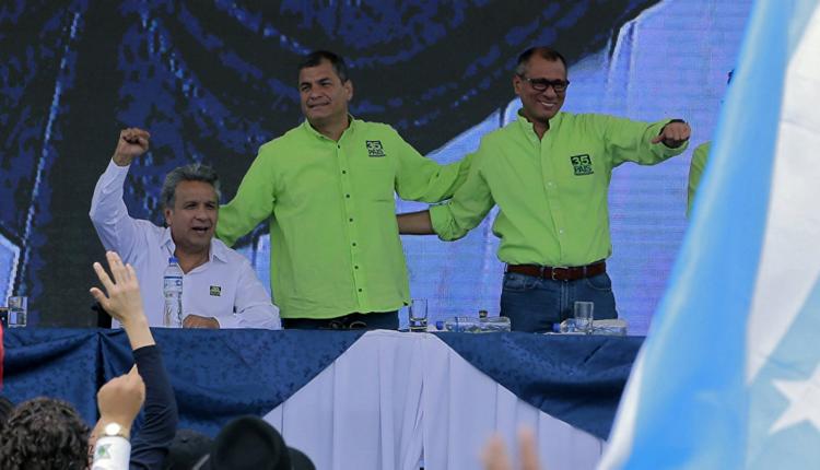 Lenín Moreno: Presidente de Ecuador 2017.