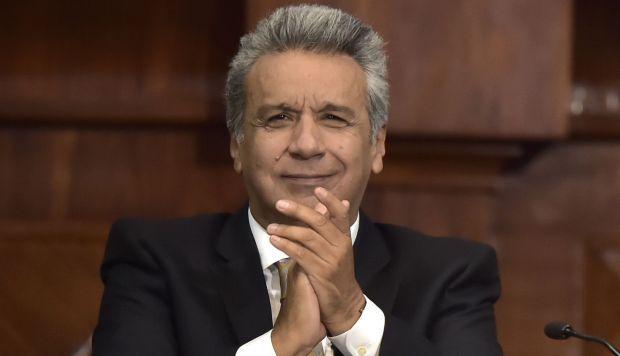 Lenin Moreno asume el mando en Ecuador