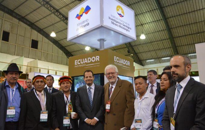 la apertura de la minería en Ecuador  destaca entre empresas de insumos y servicios mineros
