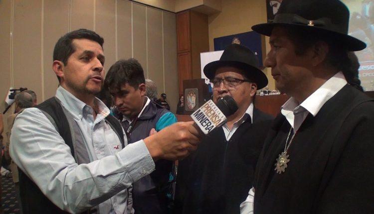 Salvador Quispe acusa a ECSA y defiende la minería ecuatoriana.