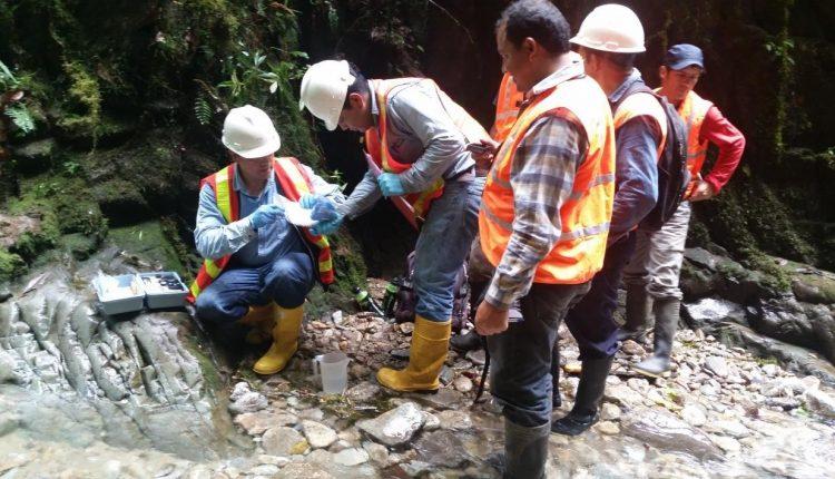 La calidad de agua se monitorea en 8 zonas del proyecto minero Llurimagua.