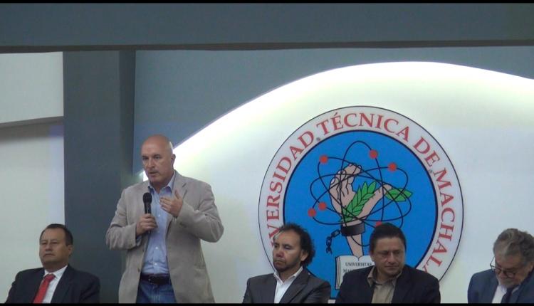 SEMINARIO SOBRE RELAVES SE DICTA EN LA UNIVERSIDAD TÉCNICA DE MACHALA.