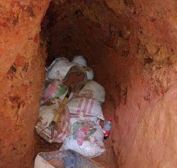 Les cayó la ley a los mineros ilegales del sector El Cielito