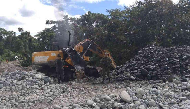 Desmantelan punto crítico de minería ilegal en el Cauca