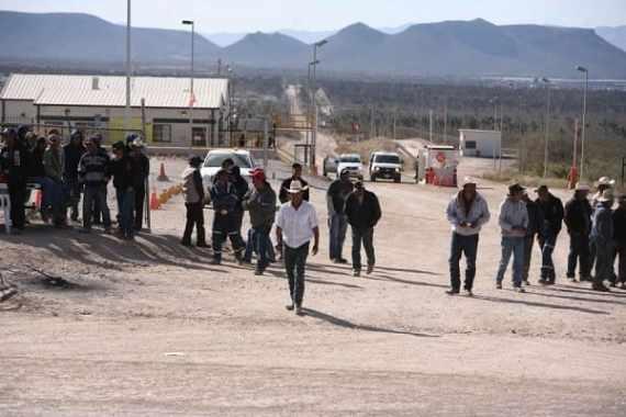 Mineras de México golpeadas por bloqueos