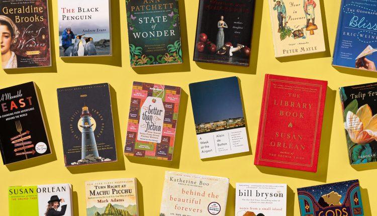 Aquí están los libros que a los editores de viajes realmente les encantan