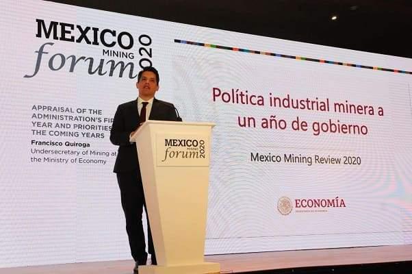 Reitera subsecretario Quiroga que la minería va