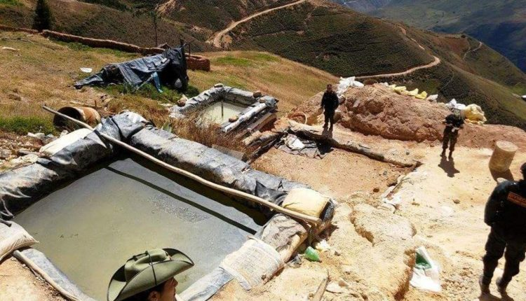 Incautan 200 kg de oro valorizados en US$ 10 millones en operativo contra minería ilegal