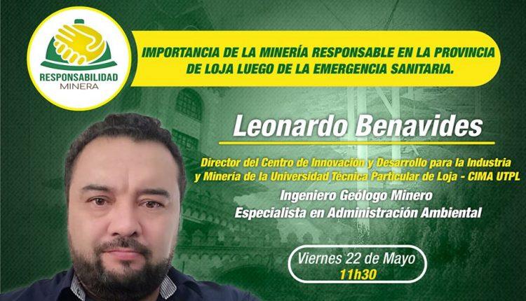 Conferencia magistral de Leonardo Benavides